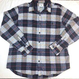 Men's old navy button down flannel